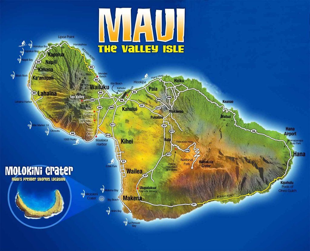 Maui The Valey Isle