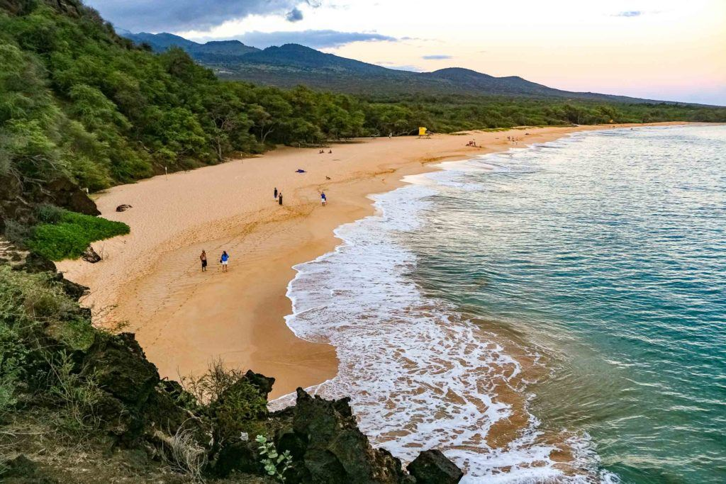 Big Beach Makena Overlook Maui