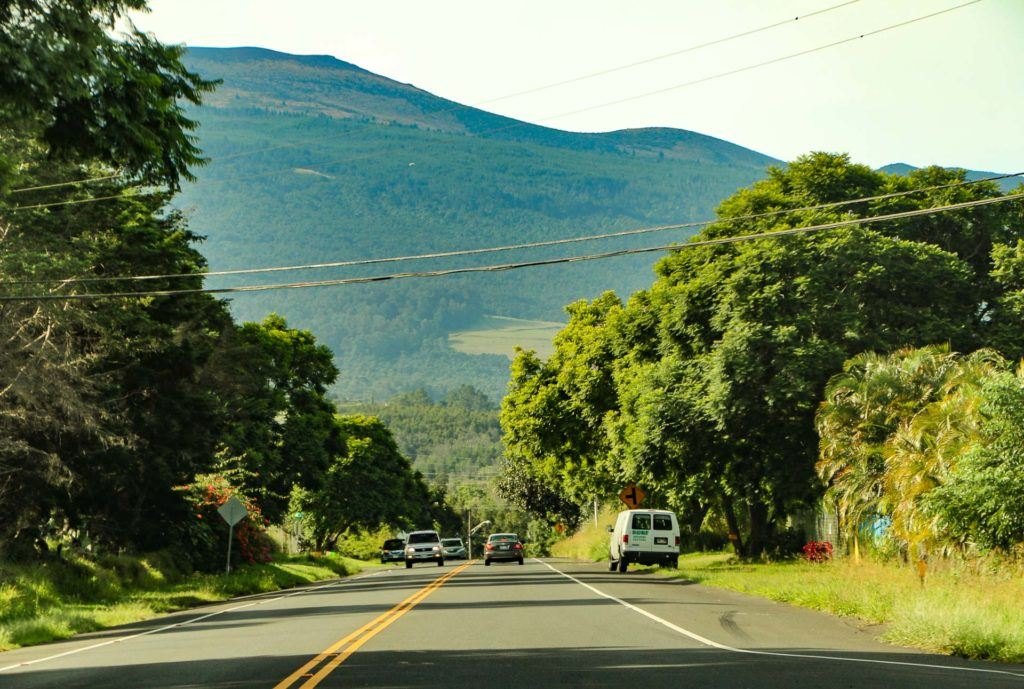 Kula Highway & Slopes of Haleakala