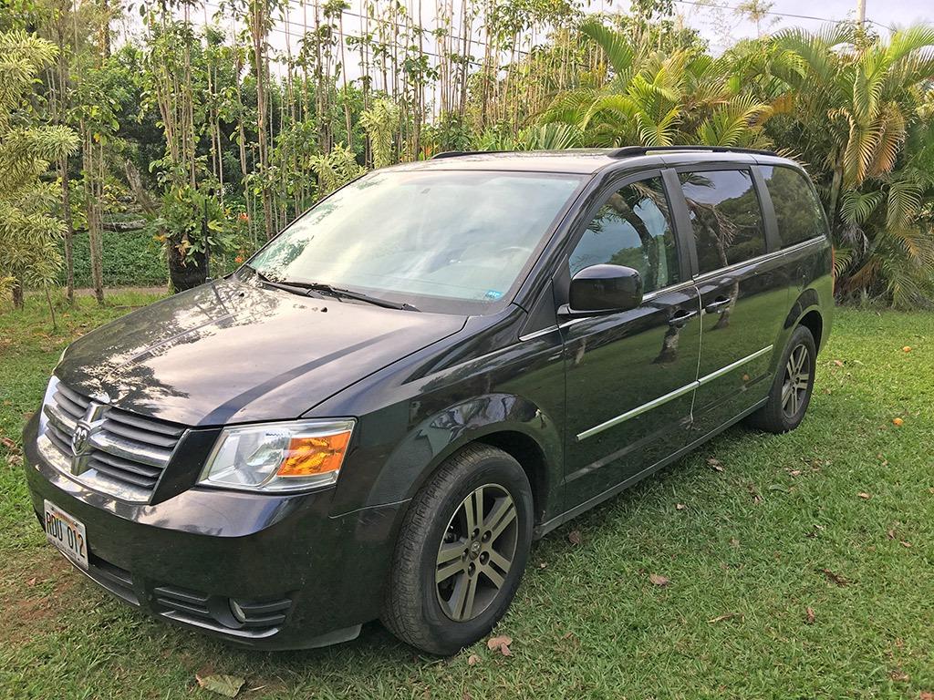 Manaloha Car Rentals Van